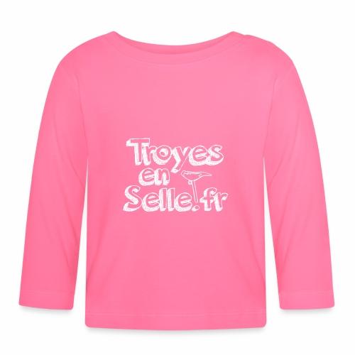 logo Troyes en Selle - T-shirt manches longues Bébé
