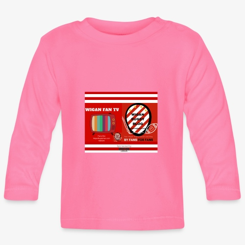 Sponsored by Logo - Baby Long Sleeve T-Shirt