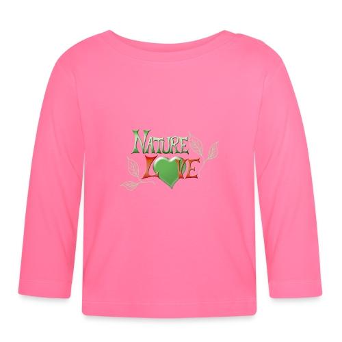 Nature Love - Baby Langarmshirt
