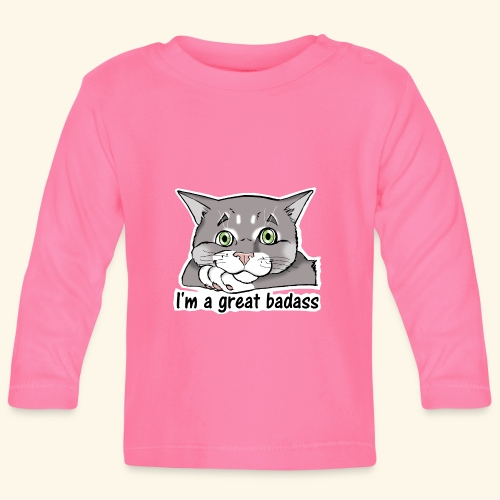 Nice Dogs CATS - Maglietta a manica lunga per bambini