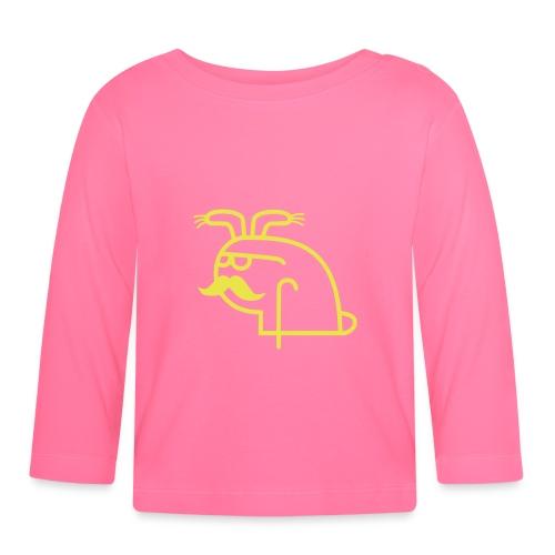 Pangbunny - Langarmet baby-T-skjorte