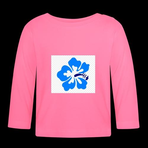 hawaiian flower - Baby Long Sleeve T-Shirt