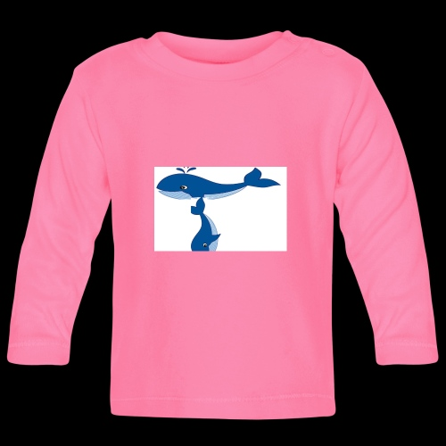 whale t - Baby Long Sleeve T-Shirt