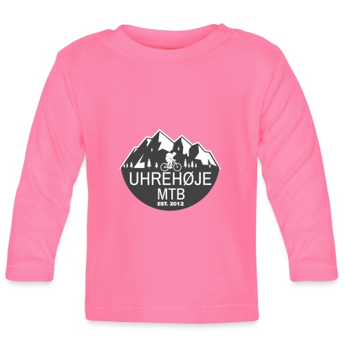 UhreHøje MTB - Langærmet babyshirt