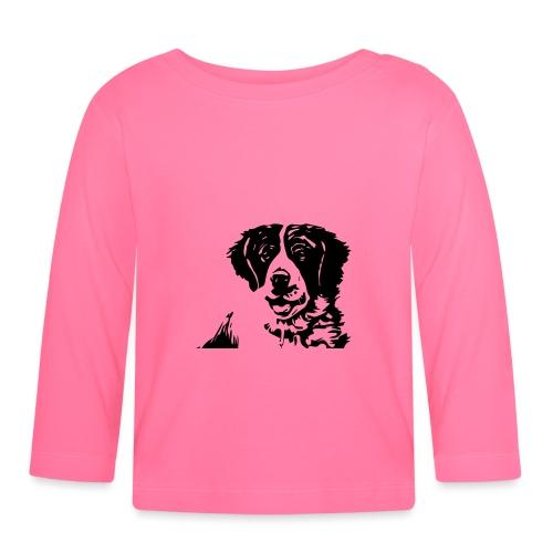Barry - St-Bernard dog - Baby Langarmshirt
