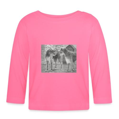 Irish Wolf hound - Langærmet babyshirt