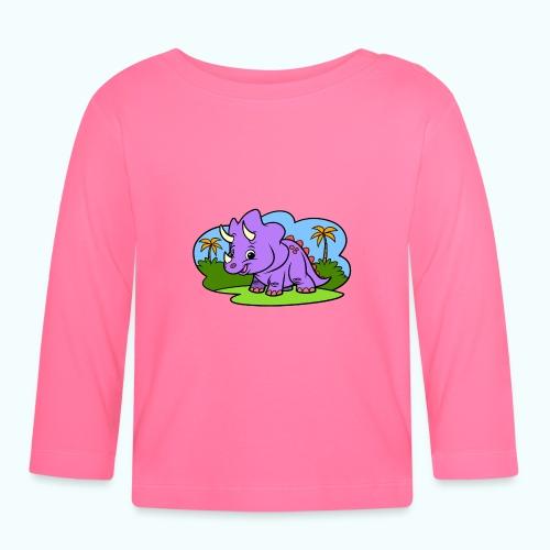 Tiny Dinosaur - Baby Long Sleeve T-Shirt