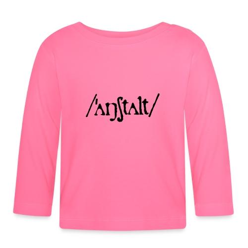 /'angstalt/ logo - Baby Langarmshirt