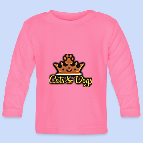 Official Cats&Dogs - Baby Long Sleeve T-Shirt