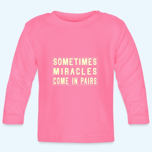 Sometimes Miracles Come In Pairs (Modern) - T-shirt