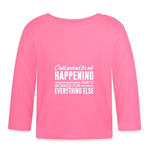 could pretend - Langarmet baby-T-skjorte