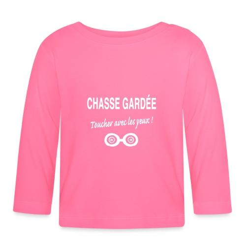 CHASSE GARDÉE : toucher avec les yeux :- - T-shirt manches longues Bébé