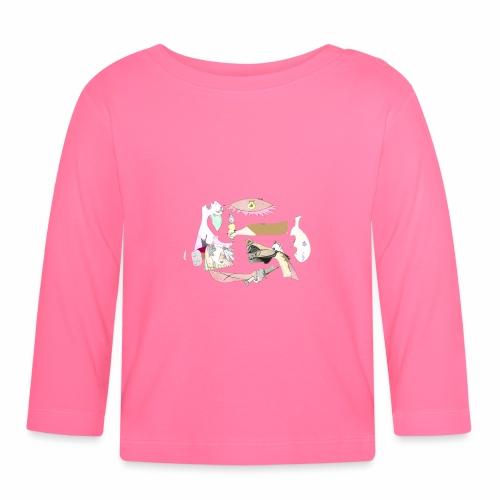 Pintular - Camiseta manga larga bebé
