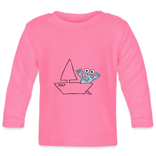 Segelmonster Sylt - Baby Langarmshirt