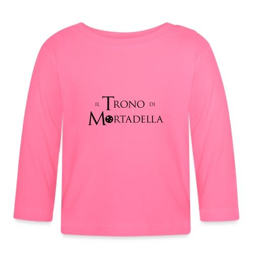 T-shirt donna Il Trono di Mortadella - Maglietta a manica lunga per bambini