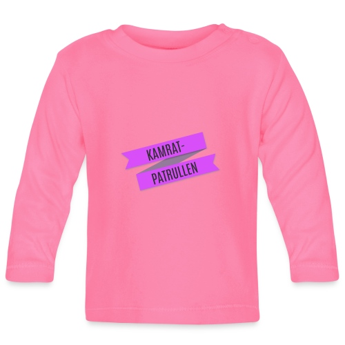 Kamratpatrullen - Långärmad T-shirt baby