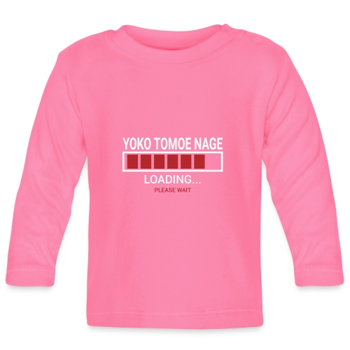 Yoko Tomoe Nage loading... pleas wait - Koszulka niemowlęca z długim rękawem