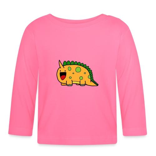 cute-dinosaur-clipart-panda-free-clipart-images-Yj - Maglietta a manica lunga per bambini