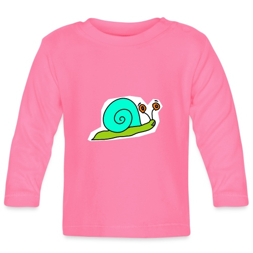 Schnecke - Baby Langarmshirt