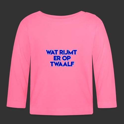 wat rijmt er op twaalf - T-shirt