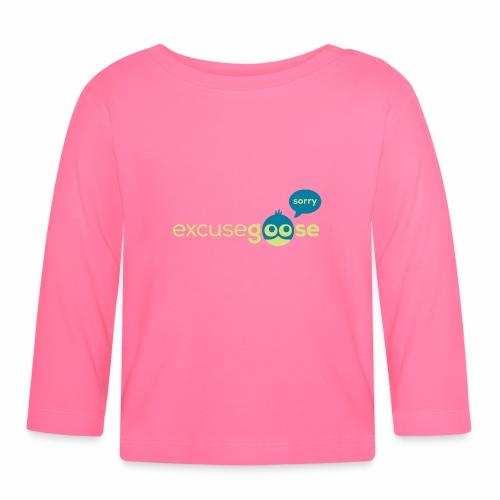 excusegoose 01 - Baby Langarmshirt