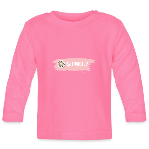 Got MILF Milfcafe Shirt Mama Muttertag - Baby Langarmshirt