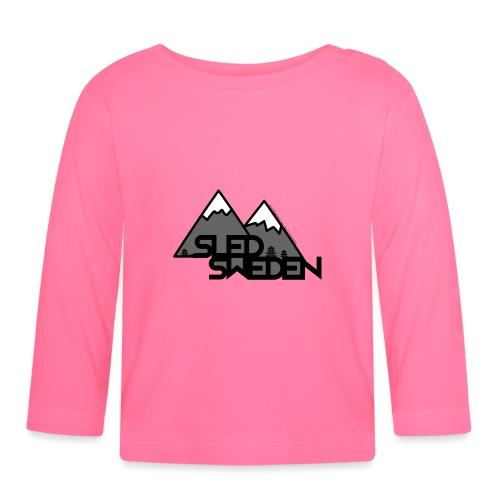SledSweden Official Logo - Långärmad T-shirt baby