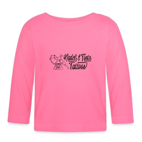 Nadel und Tinte Logo 1 - Baby Langarmshirt