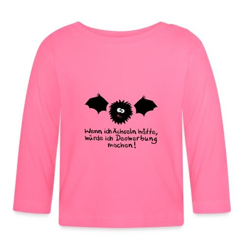 Fledermaus Deo - Baby Langarmshirt