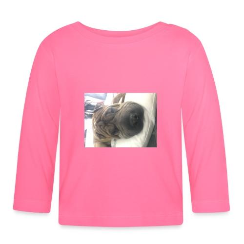 Closeup Shar-pei - Baby Long Sleeve T-Shirt