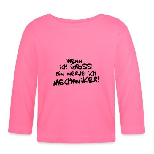 Ich werde Mechaniker! - Baby Langarmshirt