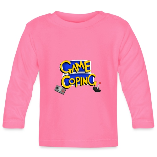 Game Coping Logo - Baby Long Sleeve T-Shirt