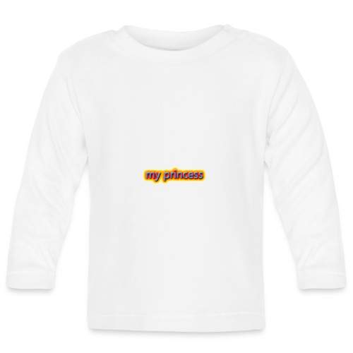 my peincess - Baby Long Sleeve T-Shirt