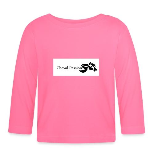 CHEVAL passion - T-shirt manches longues Bébé