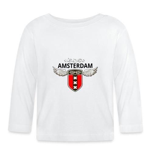 Amsterdam Netherlands - Baby Langarmshirt