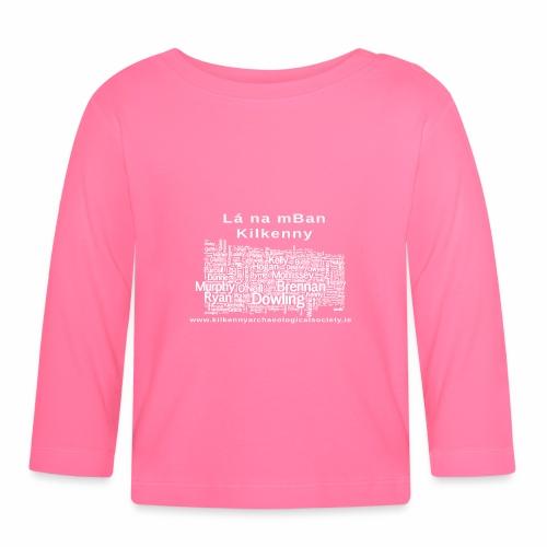Lá na mban Kilkenny white - Baby Long Sleeve T-Shirt