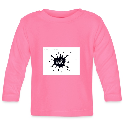Ink Logo and website - Baby Long Sleeve T-Shirt