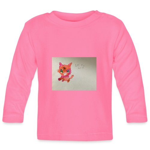 Little pet shop fox cat - Baby Long Sleeve T-Shirt