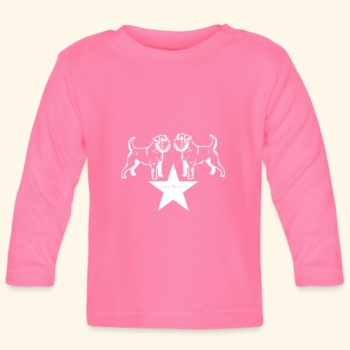 Brussels Griffon star - T-shirt manches longues Bébé