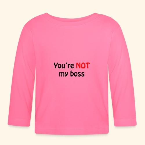 boss - Baby Langarmshirt