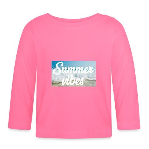 Summervibes - Baby Langarmshirt