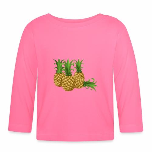 Ananas - Baby Langarmshirt
