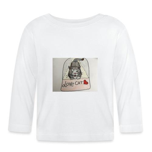 Love cat - Maglietta a manica lunga per bambini