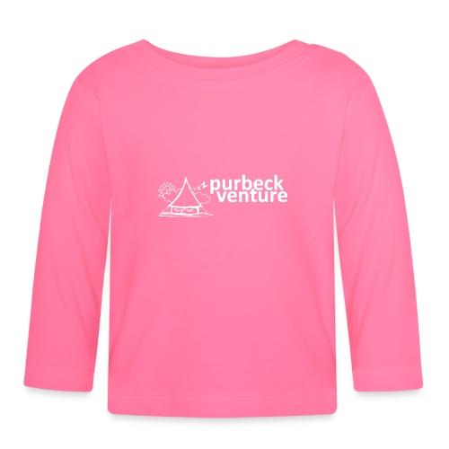 Purbeck Venture Sleepy white - Baby Long Sleeve T-Shirt