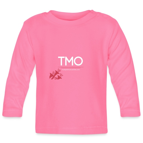 TMO official logo white - Baby Long Sleeve T-Shirt