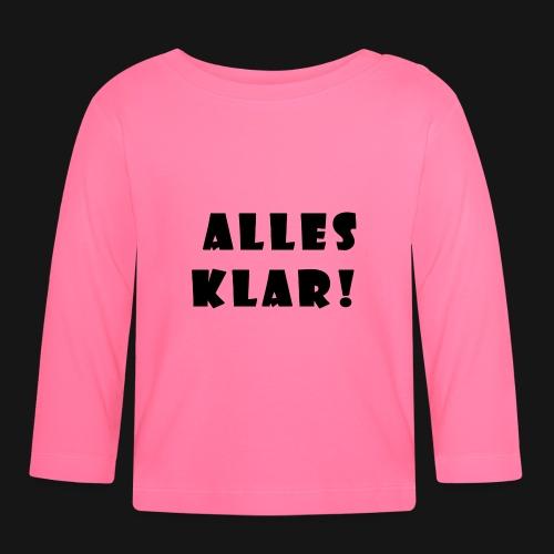 Walkeny's Alles Klar! - Baby Langarmshirt