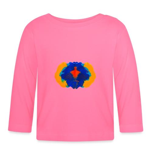 Tintenklecks Rorschach Geist Kreativität - Baby Langarmshirt