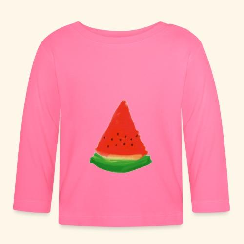 Vattenmelon - Långärmad T-shirt baby