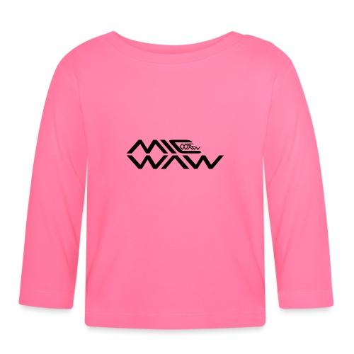 micwaw - Koszulka niemowlęca z długim rękawem