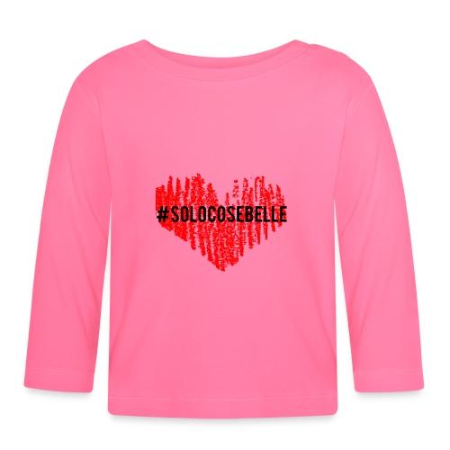 #solocosebelle - Maglietta a manica lunga per bambini